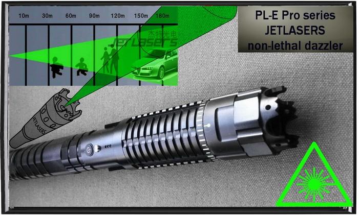 Non-lethal Dazzler Laser, 300-1000mW 532nm